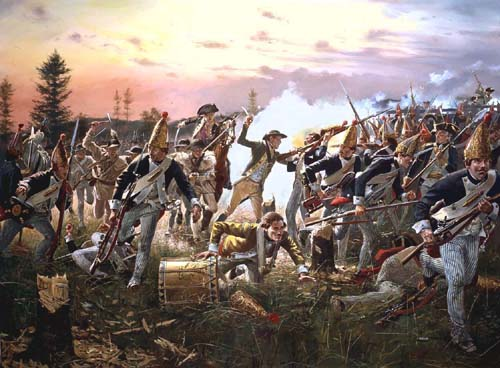 The turning point of the war: The Battle of Saratoga!